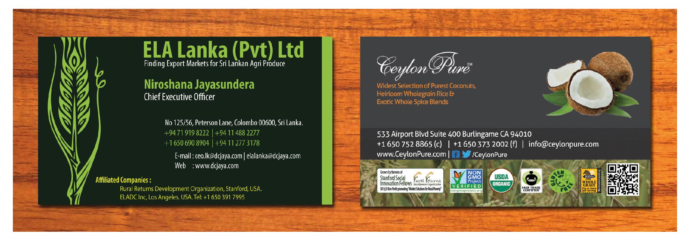 Business Cards Design – Lochana Asanka